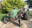 trattore d'epoca steyr 80 conservato.