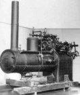 Foto del motore Reeves & Co quando ancora si trovava nel Museo di Henry Ford a Dearbon, Detroit.