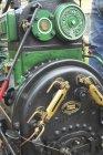 """costruttore: Ruston , Proctor & Co. Ltd. - Lincoln - England – U.K. modello: """"CLASS 320 MARK D"""" anno di costruzione: 1911 caratteristiche: locomobile a vapore con caldaia a 26 tubi di fumo, pressione di esercizio 7 Atm, motore monocilindrico a """"doppio effetto""""."""