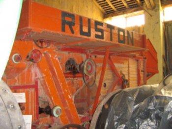 costruttore: Ruston , Proctor & Co. Ltd. - Lincoln - England – U.K. modello: - anno di costruzione: 1907 caratteristiche: trebbiatrice per cereali, battitore 75 cm, modello per media produzione.